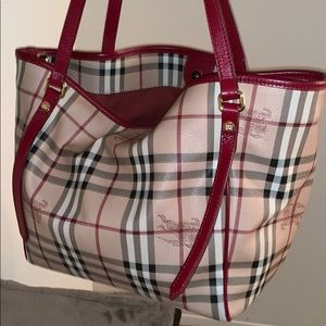 Burberry vintage tote bag
